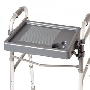 Fold-Down Walker Tray