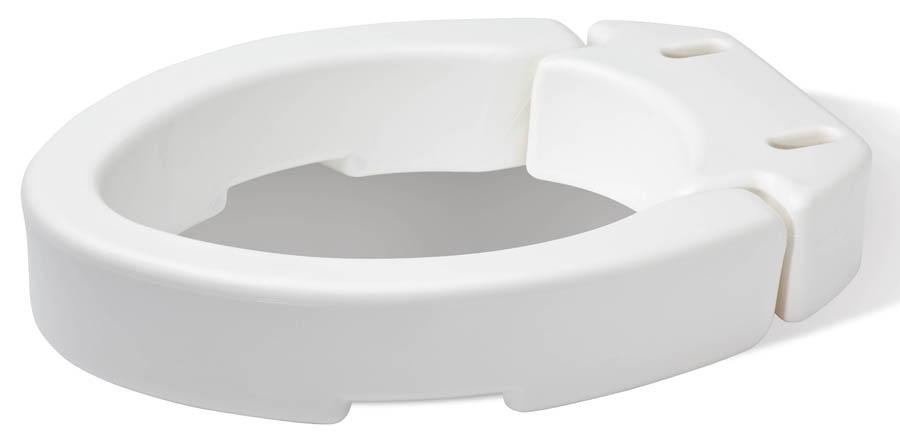 Hinged Toilet Seat Riser Elongated Ryan Pharmacy