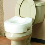 Invacare Brand CareGuard Raised Toilet Seat