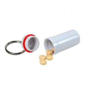 Ezy-Dose Nitro-Fresh Plastic Pill Fob Keychain