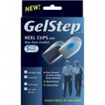 GelStep Heel Cups with Soft Spur Spot