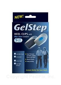 GelStep Heel Cups with Soft Spur Spot