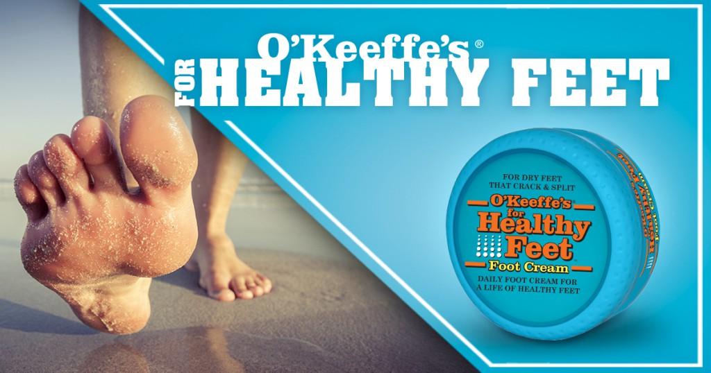 OKeeffes Healthy Feet
