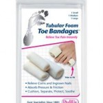 Tubular Foam Toe Bandages