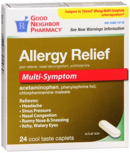 Allergy Relief Multi-Symptom