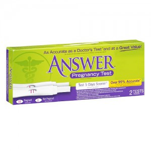 Answer Pregnancy Test 2 Pk