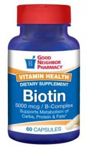 Biotin 5,000mcg B-Complex Supplement