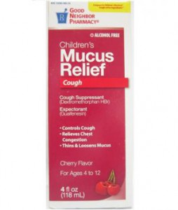 Children's Cough and Mucus Relief