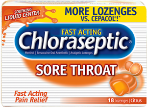 Chloraseptic Sore Throat Lozenges