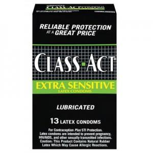 Class Act Extra Sensitive Condoms