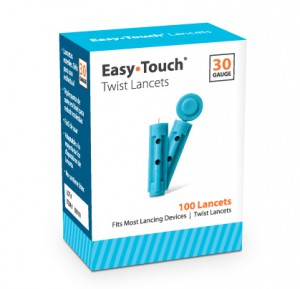 EasyTouch Twist Lancets