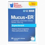 Extended-Release Mucus Relief