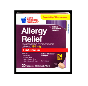 GNP 24-Hour Allergy Relief Tablets