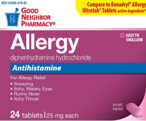 GNP Allergy Small Tablets