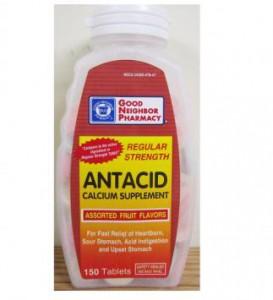 GNP Antacid-Calcium Supplement Tablets