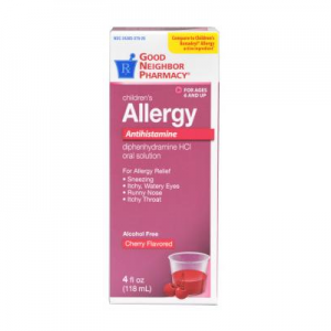 GNP Children's Allergy Liquid