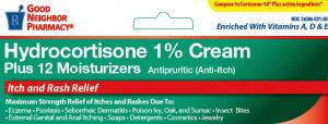 GNP Hydrocortisone 1 Plus 12 Moisturizers