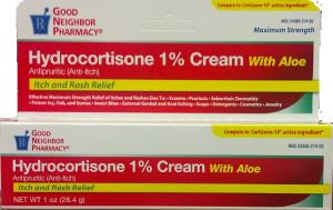 GNP Hydrocortisone 1 with Aloe