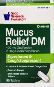 GNP Mucus Relief DM