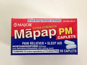Mapap PM Extra Strength Caplets