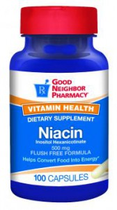 Niacin 500 mg Supplement