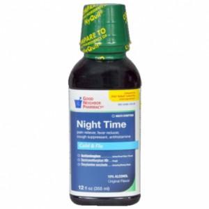 Nighttime Multi-Symptom Cold and Flu Liquid