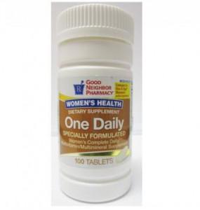 One Daily Women's Health Multivitamin