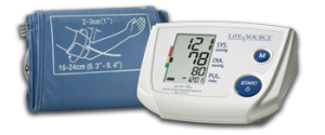 One-Step Memory Automatic Blood Pressure Monitor