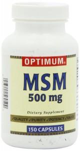 Optimum MSM Capsules 500 Mg