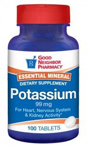 Potassium Supplement 99mg