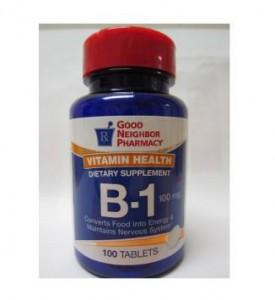 Vitamin B-1 100mg Tablets