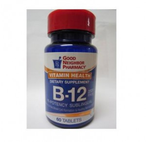 Vitamin B-12 2500mcg Sublingual Tablets