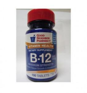 Vitamin B-12 500mcg Tablets