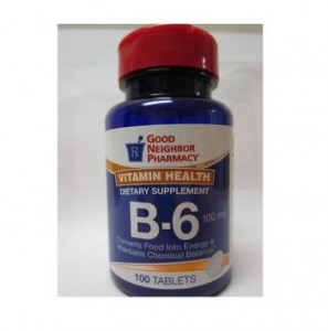 Vitamin B-6 100mg Tablets