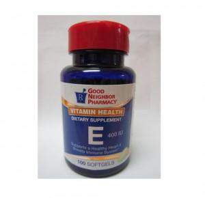 Vitamin E 400 IU Softgels