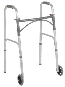 Folding Walker with 5 Wheels