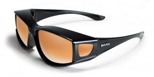 Maxx Sunglasses HD OTG Black