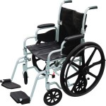 Poly-Fly WheelchairFlyweight Transport Chair Combo