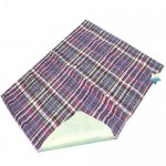 QuikSorb Quilted Incontinence Underpad, Plaid 34 x 36