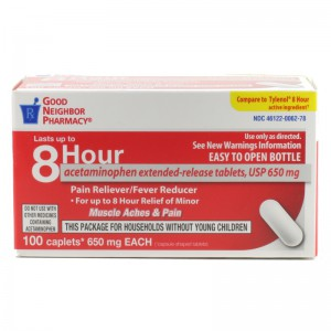 8 Hour Acetaminophen Extended-Release