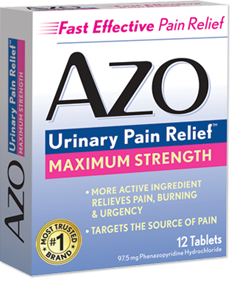 AZO Urinary Pain Relief Maximum Strength
