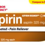 Aspirin Regular Strength 325 mg