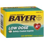 Bayer Low Dose Aspirin Pain Reliever