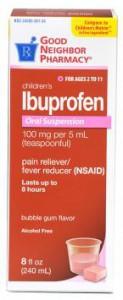 Children's Ibuprofen Suspension