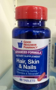 Dietary Supplement Hair, Skin & Nails