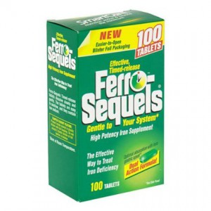 Ferro-Sequels Iron Supplement caplets