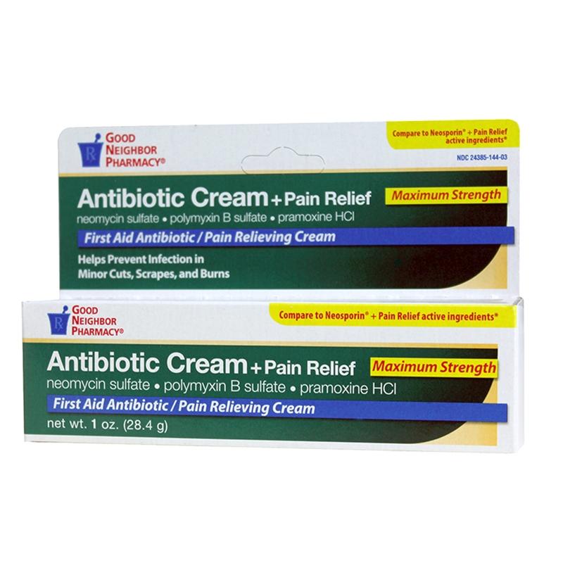 GNP Antibiotic Cream plus Pain Relief - Ryan Pharmacy