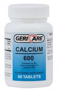 Geri Care Calcium 600mg Tablets