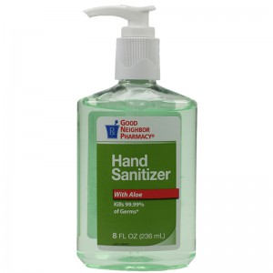 Hand Sanitizer With Aloe 8oz