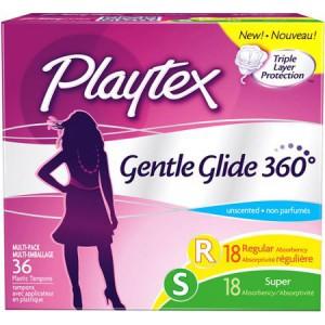 Playtex Gentle Glide 360 Tampons